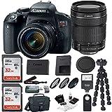 Canon EOS Rebel T7i DSLR Camera Bundles (18-135mm Bundle)