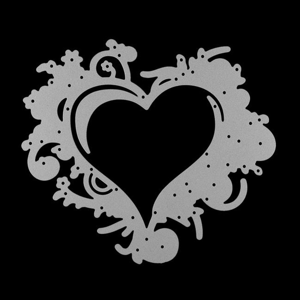 Gilroy Love Heart Metal Cutting Dies Stencil DIY Scrapbooking Embossing Album Paper Card Craft by Gilroy (Image #4)