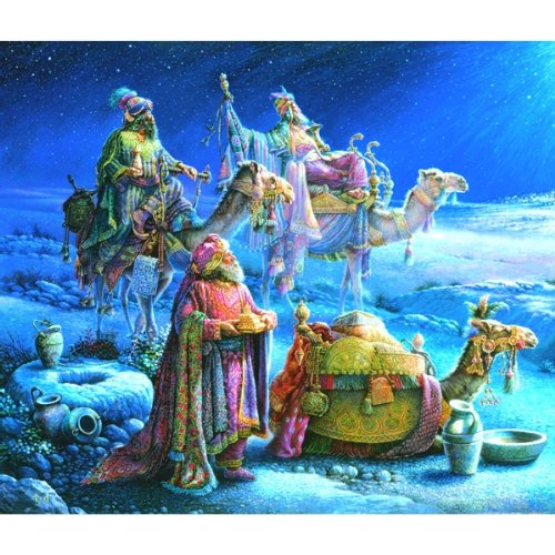 Sunsout They Come Bearing Gifts 550 Piece Jigsaw Puzzle