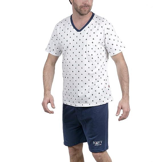 0f6a33e031a06 Collection Authentic - Ensemble Pyjama Short Homme: Amazon.fr ...