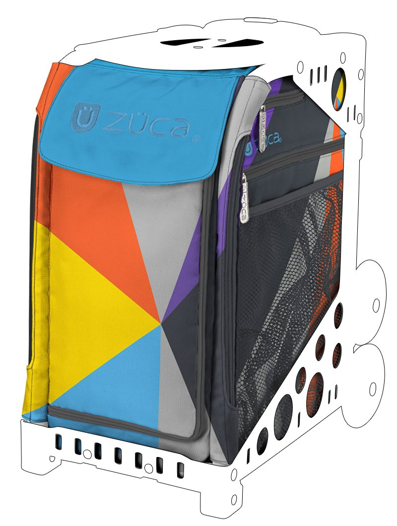 Zuca Colorblock Party Sport Insert Bag (Frame Sold Separately)