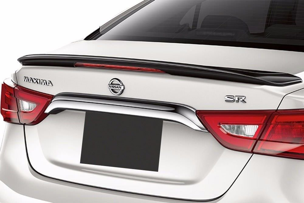 Spoiler and Wing King brand Factory Style SR Spoiler made for the Nissan Maxima 2016-2019 Painted in the Factory Paint Code of Your Choice 556 RAY
