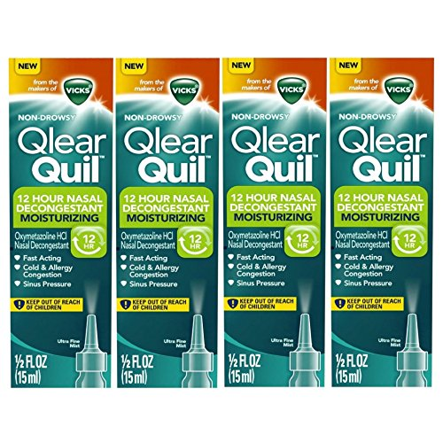 Vicks Qlearquil Nasal Decongestant Moisturizing product image