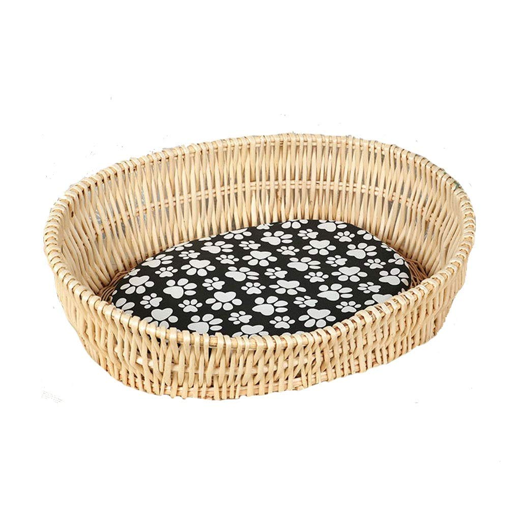 A X-Large A X-Large Removable and Washable Cat Litter Kennel Spring Summer Pet Nest Teddy Bear Dog Bed Four Seasons (color   A, Size   XL)