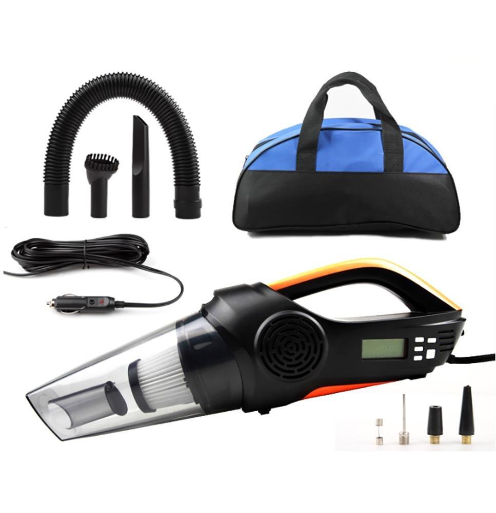 LEAJIA Car Vacuum Cleaner,4 in 1 Handheld Vacuum--Portable Vacuum Wet/Dry DC 12V 100W 3500 Pa High Power Car Vacuum Cleaner,With Tire Inflator,Tire Pressure Gauge ,Floodlight