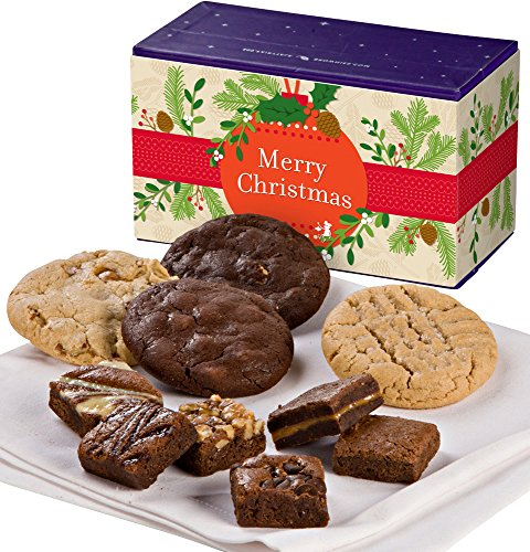 Fairytale Brownies Christmas Treasure Cookie & Magic Morsel Combo Gourmet Food Gift...