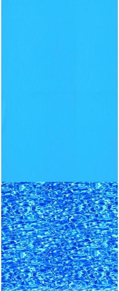 5,48 m, D Liner overlap Swimline décor Swirl pour piscine hors-sol Diamètre