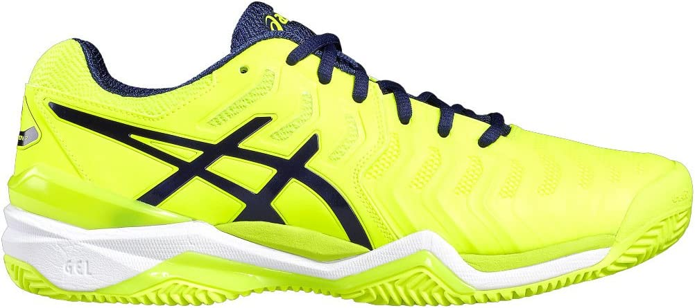 Asics Gel Resolution 7 Clay Amarillo Fluor E702Y 0749: Amazon.es ...