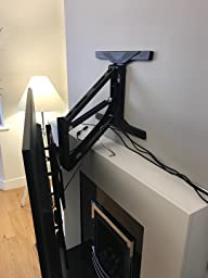 Tranquilmount easy pull and drop down lowering tv wall - Drop down tv mount ...