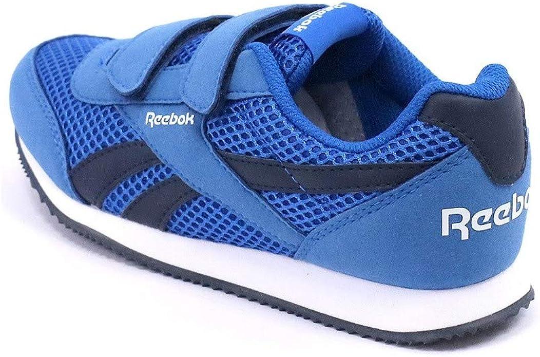 Reebok Royal CLJOG 2RS 2V, Zapatillas de Running para Niños, Azul/Blanco (Blue Sport/Collegiate Navy/Wht), 31 1/2 EU: Amazon.es: Zapatos y complementos