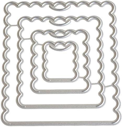 Love string Design Metal Cutting Die For DIY Scrapbooking Album Paper HC/_H