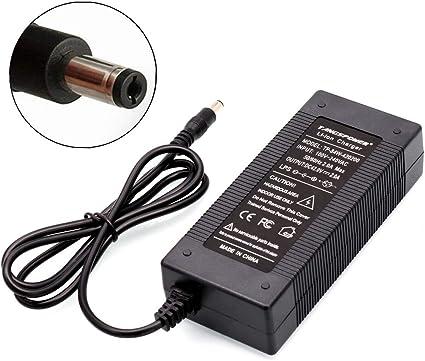 TANGSPOWER 36V 2A Cargador de batería Salida 42V 2A Cargador de ...