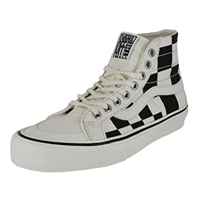 Vans Mens SK8 HI 138 Decon SF MEGA Check Black White Size 4.5 315a45241