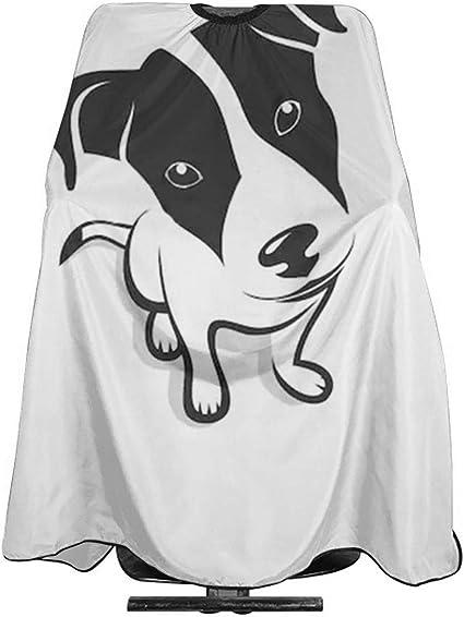 Jack Russell Terrier - Delantal para corte de pelo, capa para ...