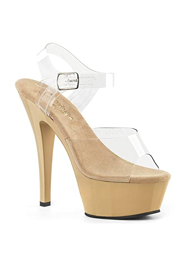 450566da0e Pleaser KISS-208, Womens Sandals: Amazon.co.uk: Shoes & Bags