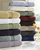 Luxor Linens 100% Egyptian Cotton Luxury 6-Piece Towel Set - Ivory - His & Hers in Gift Packaging