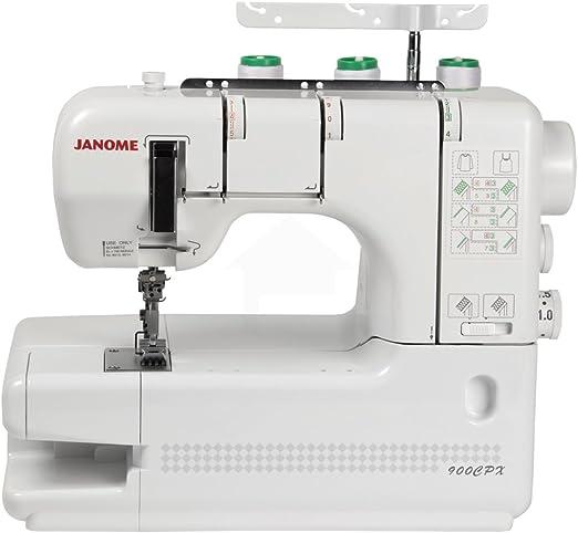 Janome 0732212274527 - Coverpro 900cpx - remalladora y recubridora ...