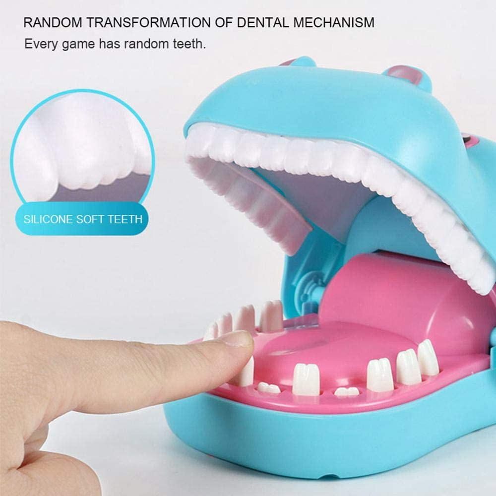 Shark Teeth Toys Game For Kids Snappy Shark Biting Finger Dentist Games Classic Biting Hand Game Funny Toys Funnier Gag Toys Great Gift