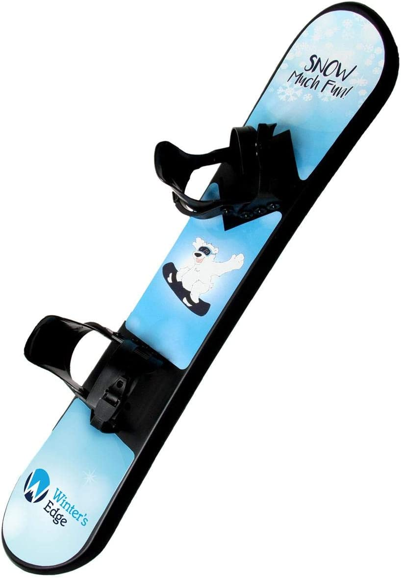 Winter's Edge Snow Much Fun Kids Plastic Snowboard