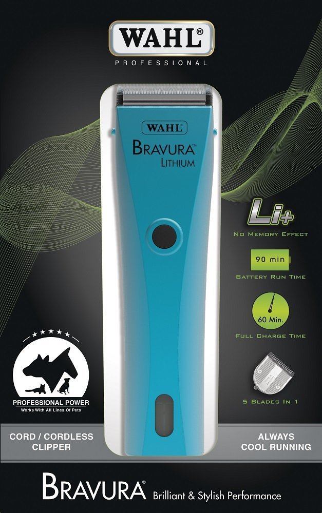 Wahl Professional Animal Bravura Lithium Clipper Berry 41870-0419 Wahl Clipper Corp.