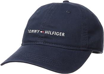 Tommy Hilfiger Men s Logo Dad Baseball Cap c3ce558e1a5