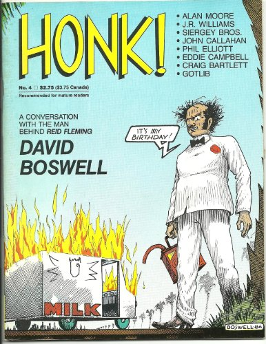 Honk #4, May 1987. Alan Moore, Eddie Campbell, David Boswell