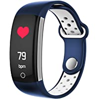EQB SMART6 Waterproof Fitness Tracker with Heart Rate, Blood Pressure Monitor