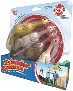 University Games Flickin' Chicken Outdoor Toss Game for Kids