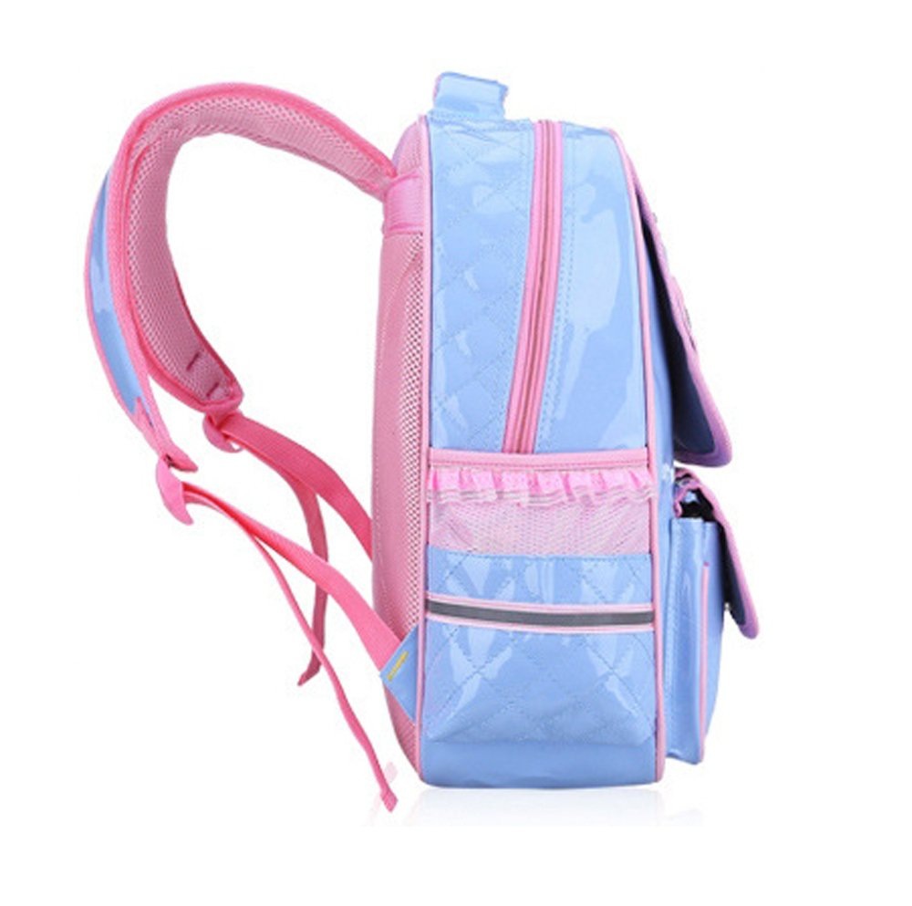 a8ad565fa4001 Kaxich Kinder Mädchen Rucksack Schulrucksack PU-Leder Prinzessin Stil  Schultaschen Kinderrucksack für Teenage Maedchen 9-11 Jährige  Amazon.de   Koffer