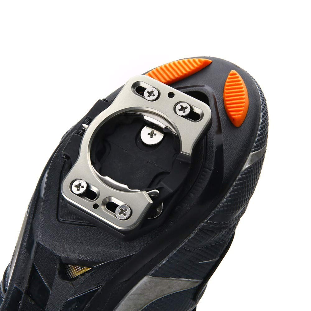Lessonmart One Pair Quick Release Cleat Bike Pedal Cleats for Speedplay Zero, Pave/Ultra Light Action, X1, X2, X5 Cleat