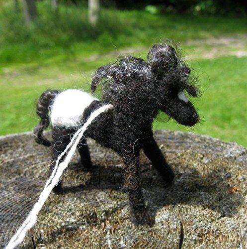 Horse Ornament Black and White Appaloosa