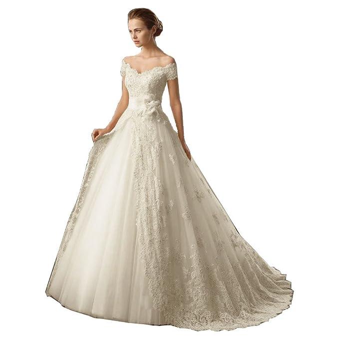 dressvip - Vestido de novia Blanco blanco