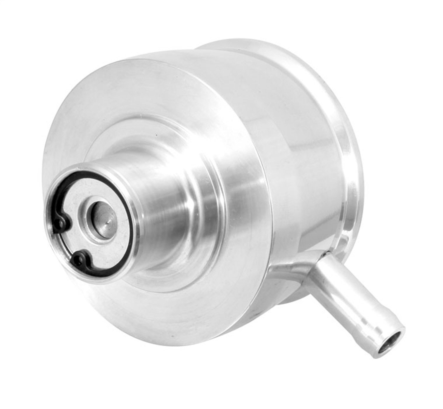 Spectre Performance 4921 1 Push-In Smooth Aluminum PCV//Breather
