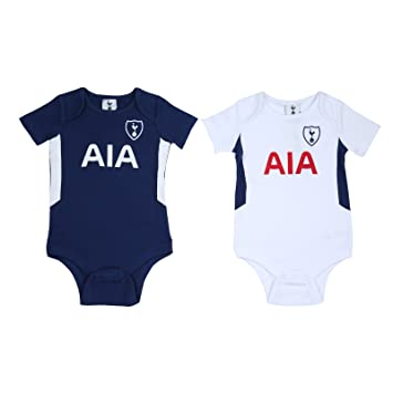 new products 0a88e 92521 Official Tottenham Hotspur Baby Core Kit 2 Pack Bodysuits - 2017/18 Season