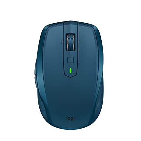 Logitech MX Anywhere 2S Wireless Mouse – Use on Any Surface, Hyper-Fast  Scrolling, Rechargeable, Control up to 3 Apple Mac and Windows Computers  and
