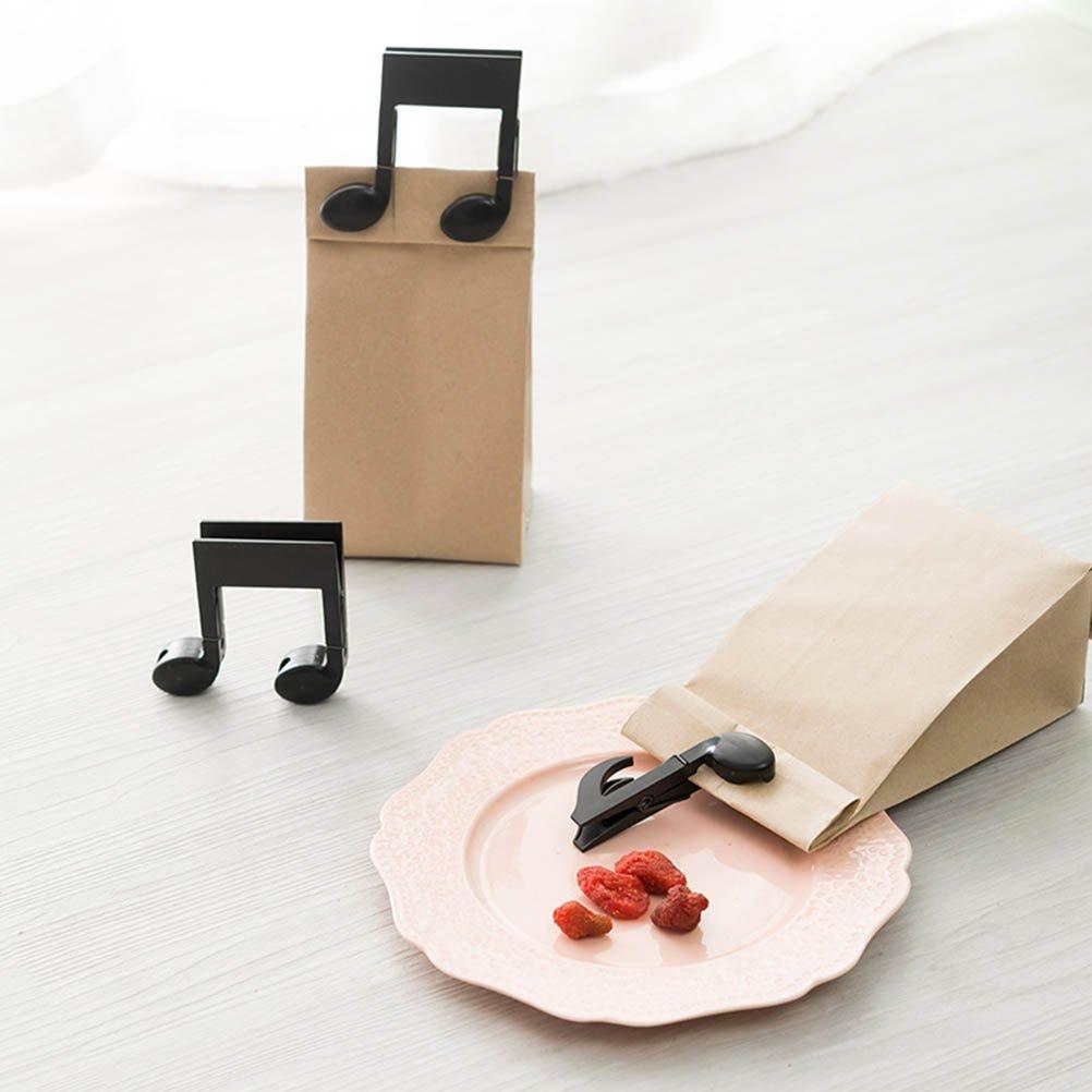 BESTONZON Lot de 2/Mini Pinces /à Linge Note de Musique Forme d/étanch/éit/é Clips Papier Photo Craft Pinces /à Linge Pinces /à Linge