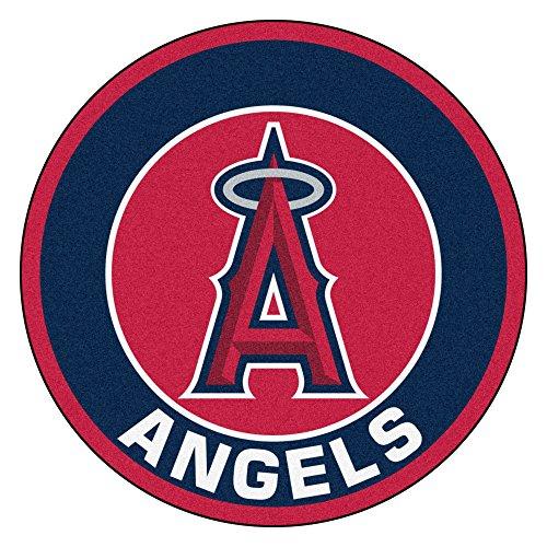 (FANMATS 18138 MLB Los Angeles Angels Roundel Mat)