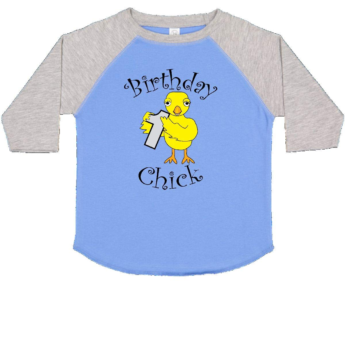 inktastic Birthday Chick Number 1 Toddler T-Shirt