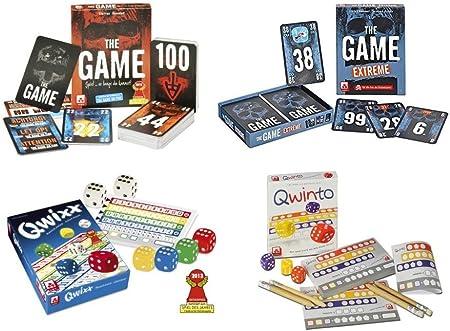Grande Juegos de Juego con dados Jugar qwixx y qwinto, así como ...