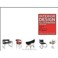 Interior Design Illustrated: Marker and Watercolor Techniques