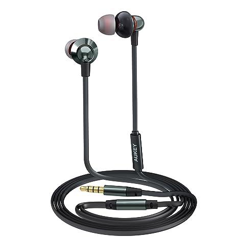 AUKEY Auricolare Stereo Cuffie con Microfono con Cavo di 1 b1b851bc8bcd