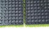EcoMatrix Artificial Grass Tiles PP Interlocking