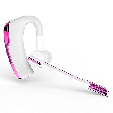 Shareconn Auricular Bluetooth, Auriculares inalámbricos con reducción de Ruido, con micrófono Sonido cristalino para
