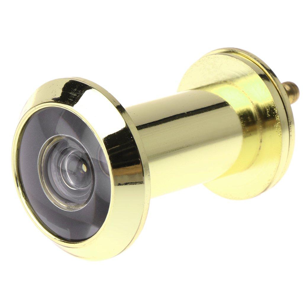 Rote Bronze YOUziLLL Einziehbare Home-T/ürspion Door Viewer Sicherheit Diebstahlschutz Kupfer Door Viewer Spion Loch Weitwinkel