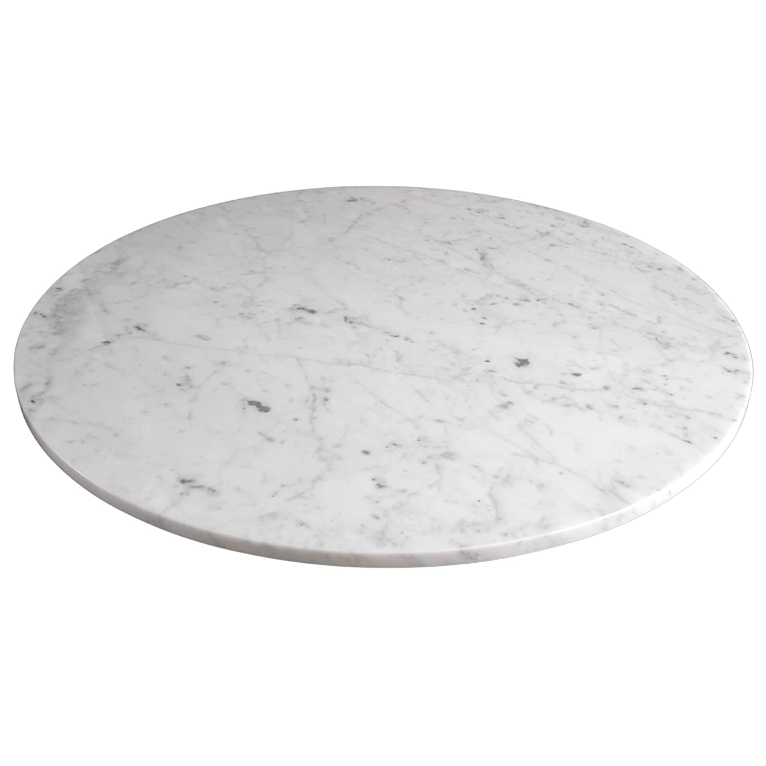 Amazon Com Marble Lazy Susan Turntable Rotating Tray Dining Table Centerpiece Serving Plate Large 22 Inch Handmade