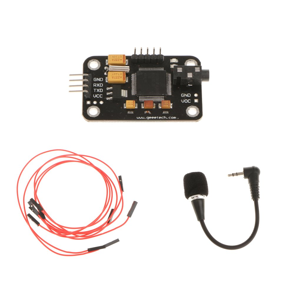 MonkeyJack Speech Voice Recognition Module & microphone with 4Pin Cable for Arduino 4334207411