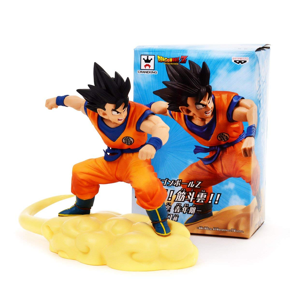 BANPRESTO 604722 Scultures Dragon Ball Z, Goku Nuage Magique Action ...