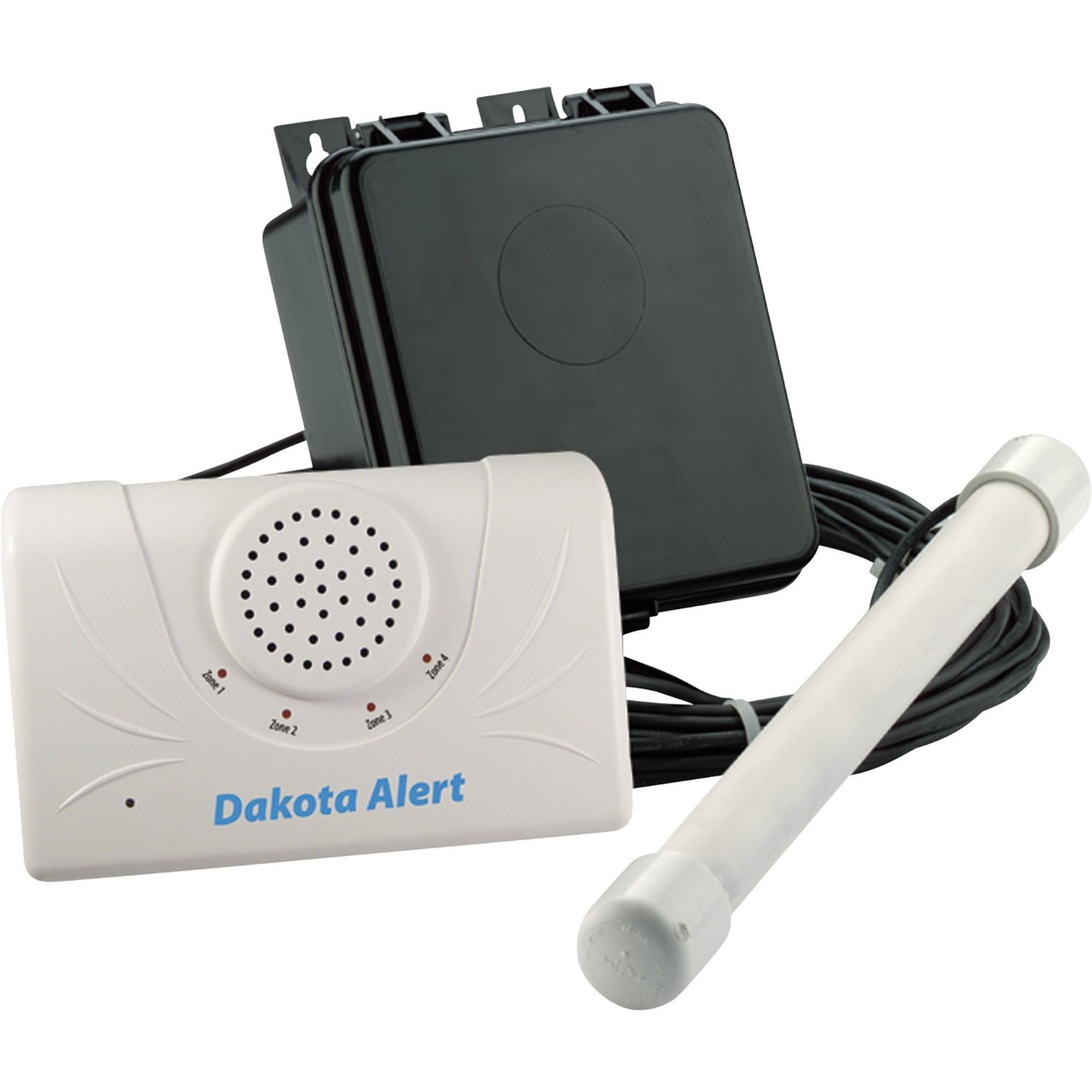 Dakota Alert DCPA-2500 Duty Cycle Probe Alert 2500' Kit (Black White) by Dakota Alert