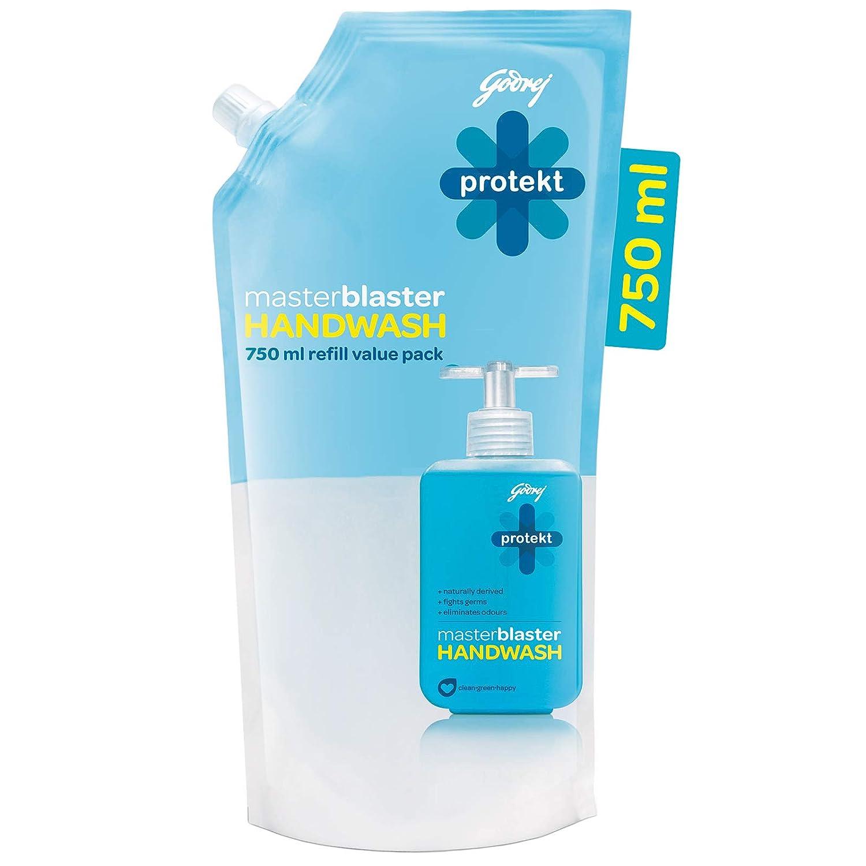 [Pantry] Godrej Protekt Masterblaster Germ Protection Liquid Handwash Refill, 750ml
