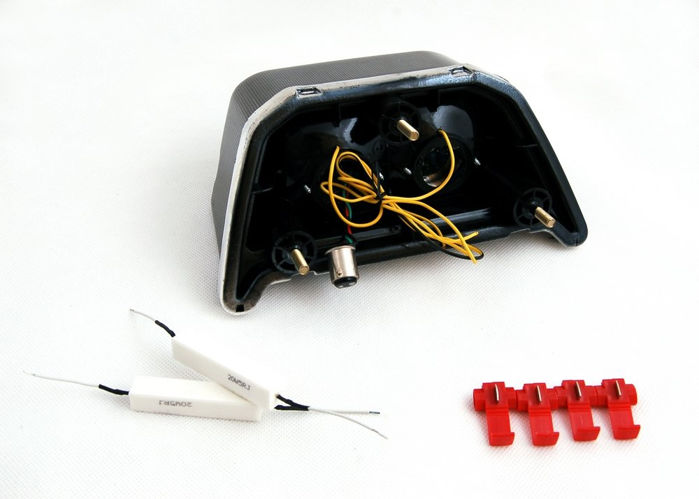 1999-2004 Mad Hornets Tail Light with Integrated Turn Signals for Kawasaki ZRX 1100 1200